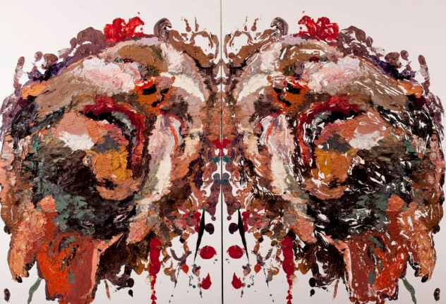 Ben Quilty_Smashed (Diptych)