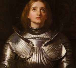 Detail from 'Joan of Arc' by John Everett Millais
