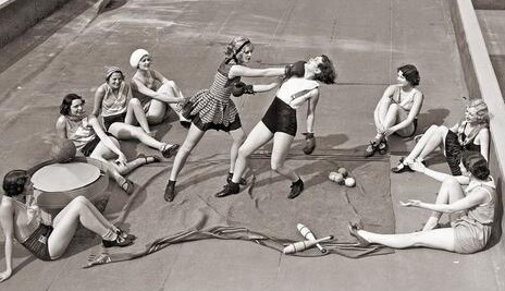 GirlFight1930s