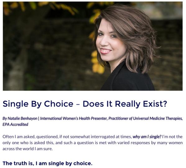 Single-by-choice
