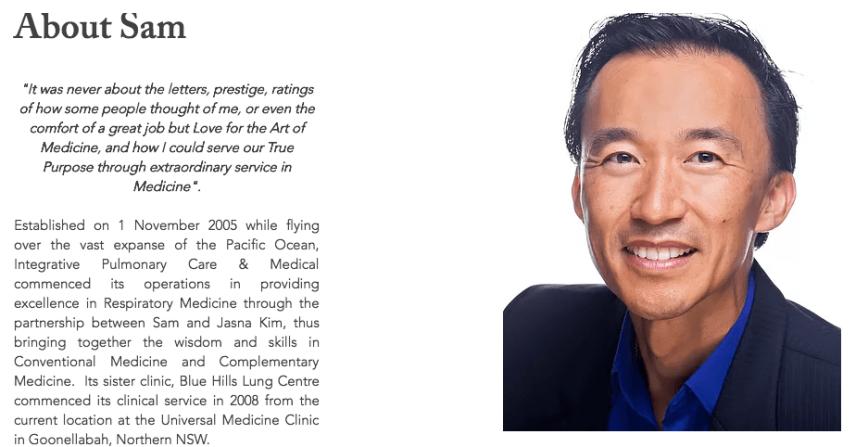 Dr Samuel Kim Pulmonary Care